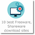 10 best Freeware, Shareware download sites
