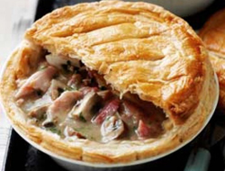 Chicken and Ham Pie