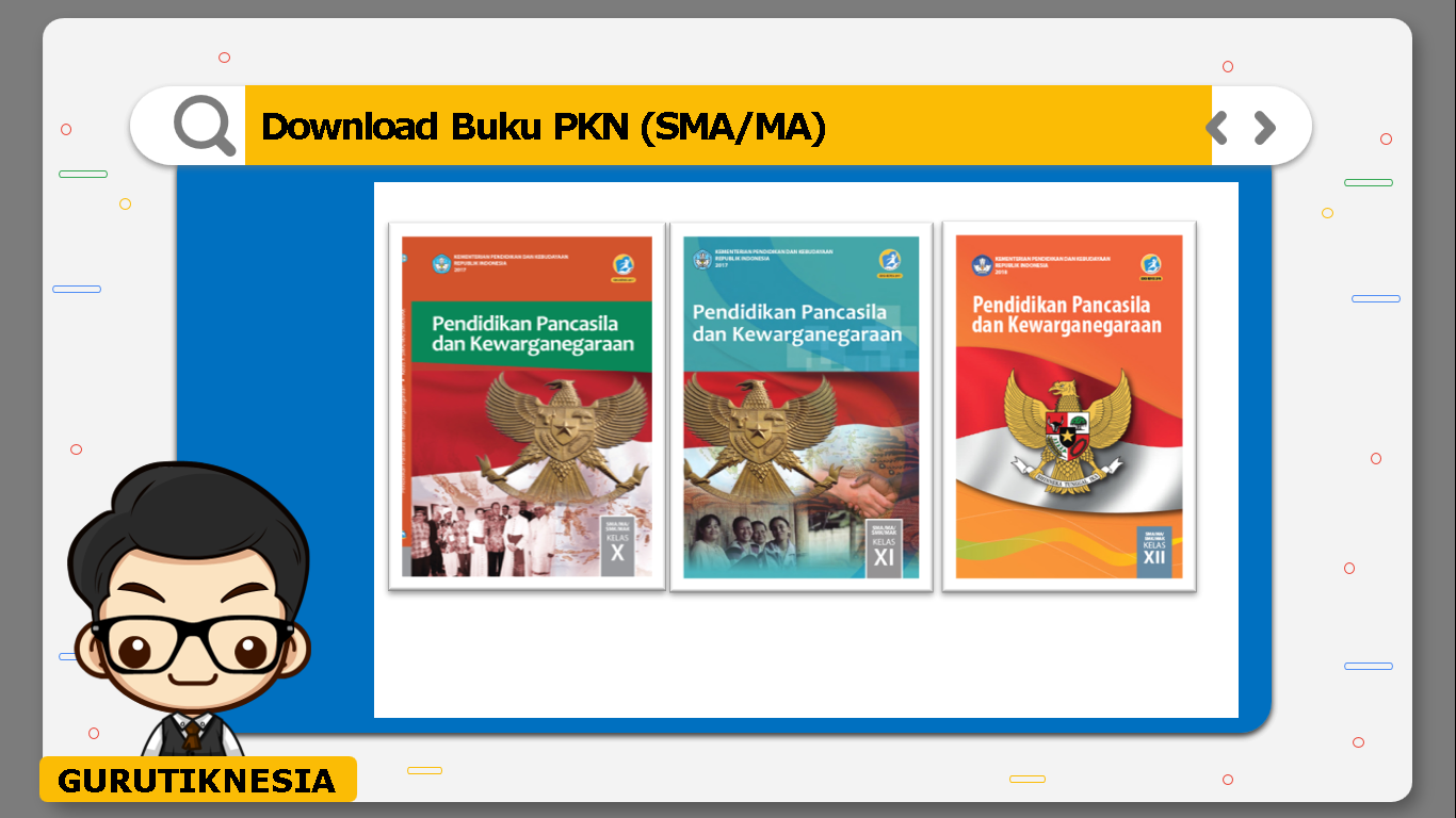 download gratis buku pdf pkn untuk sma/ma