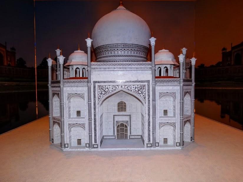Taj Mahal, Índia - Maravilhas do mundo no Parque Algum Lugar em Gramado