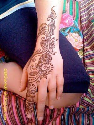 Arabic Mehndi Designs For Left Hand Mehndi Designs