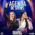 Agenda de Shows Novembro 2016 - Maiara & Maraisa