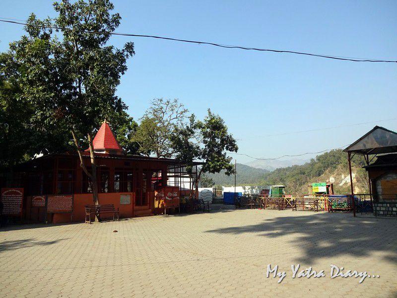 Garjiya Devi Shakti Temple compound Uttarakhand