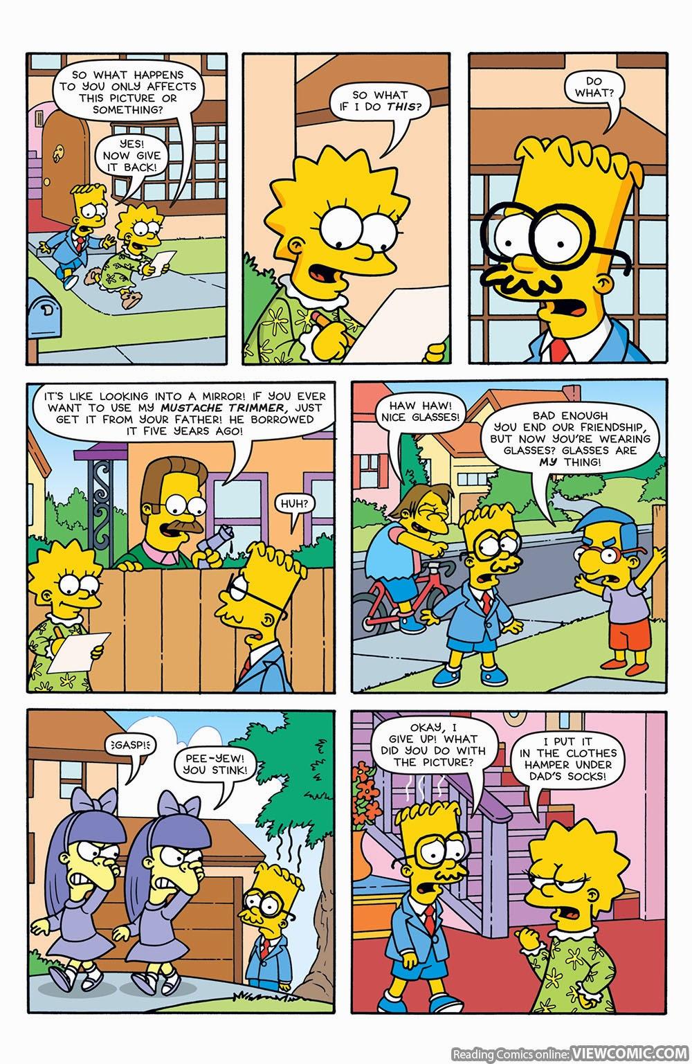 Simpsons Comics 196 (2012) ………………… … | Viewcomic reading
