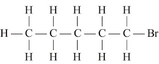 Bromopentane Structure