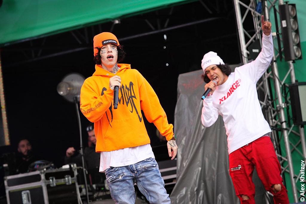 Lil Xan на фестивале Ласточка