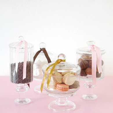 DIY Pedestal Candy Jars