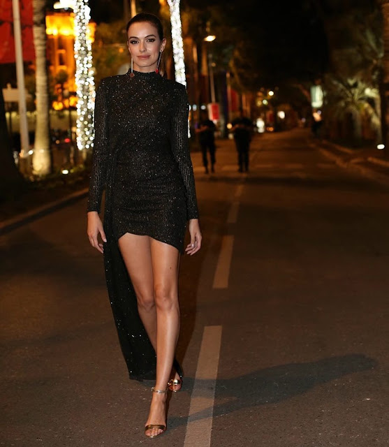 The Beautiful Iva Lamarão, Elegant and Sexy in Cannes