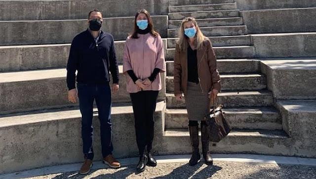 Η Πρεσβευτής του Μαυροβουνίου στην Ελλάδα επισκέφθηκε την Επίδαυρο