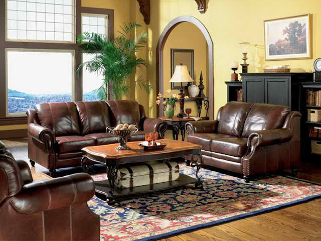 ashley leather furniture north shore living room set design