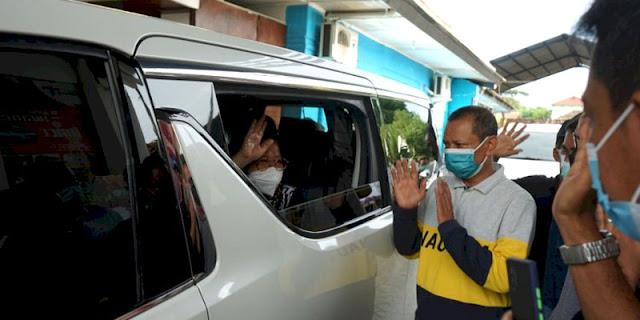 Lepas Tugas Sebagai Walikota Surabaya, Risma: Makasih Yo, Rek