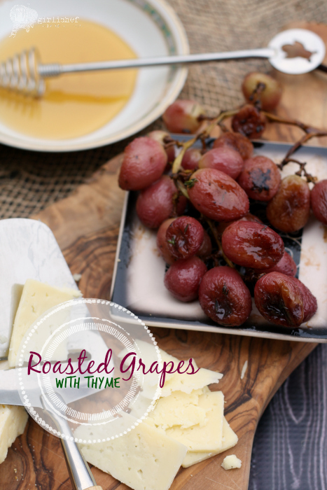 Roasted Grapes with Thyme