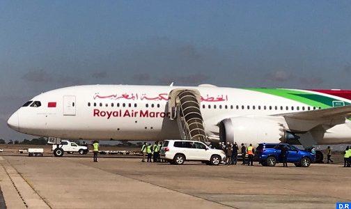 (كوفيد-19).. المساعدات الطبية المغربية الموجهة لمالاوي تصل الى العاصمة ليلونغوي