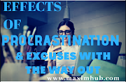 Effects Of Procrastination And Excuses With The Way Out