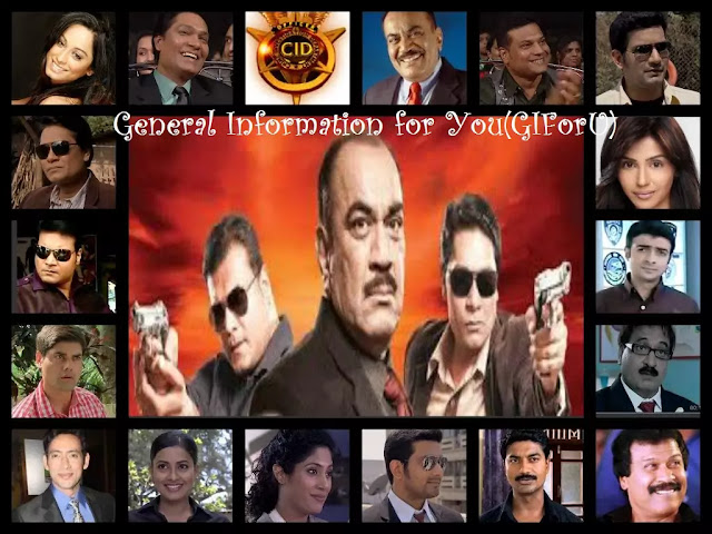 Full Form of CID - Full Episode Detials of CID 2019-name of Cid Members-GIforU