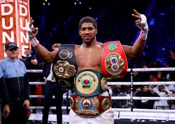 OFFICIAL: Anthony Joshua Will Present Heavyweight Belts To Nigeria President Mohammed Buhari