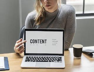 Blog Content Dan Masalahnya
