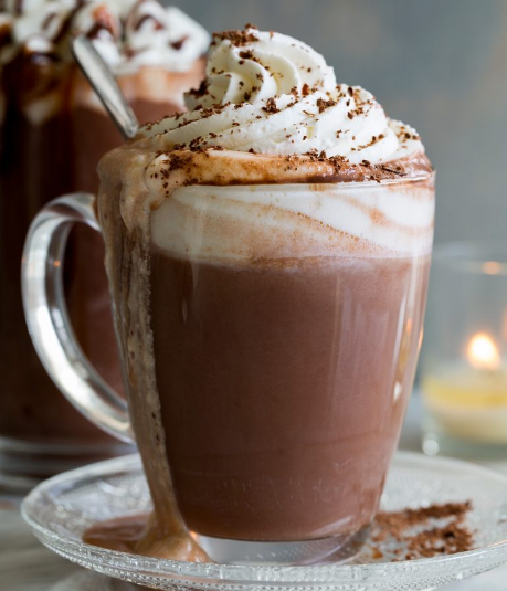 Hot Chocolate #drink #chocolate #easy #smoothie #summer