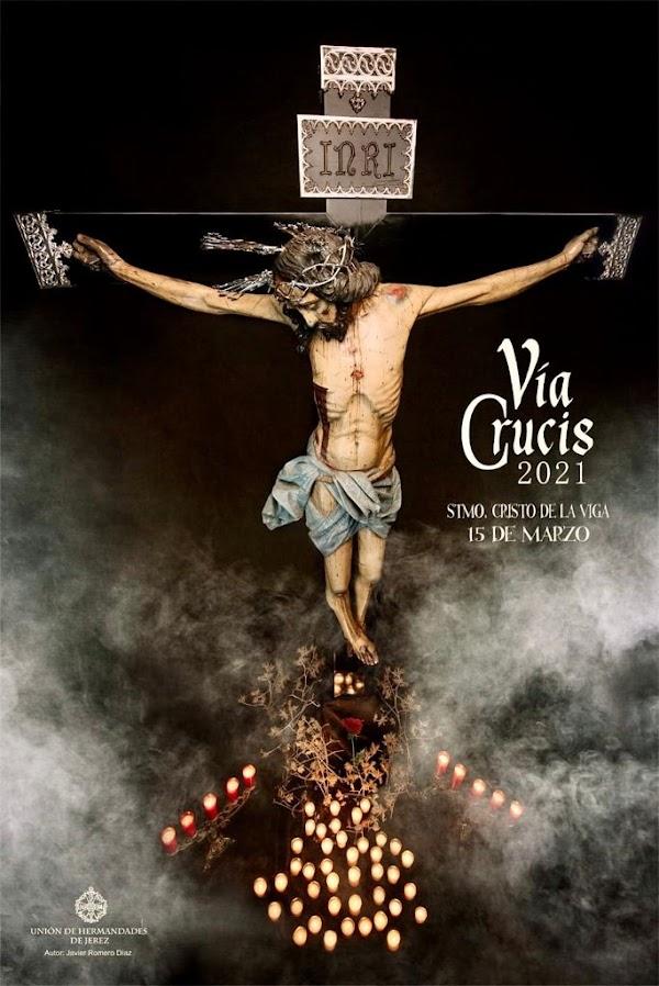 Presentado el Cartel del Vía Crucis Oficial de Hermandades de Jerez de la Frontera