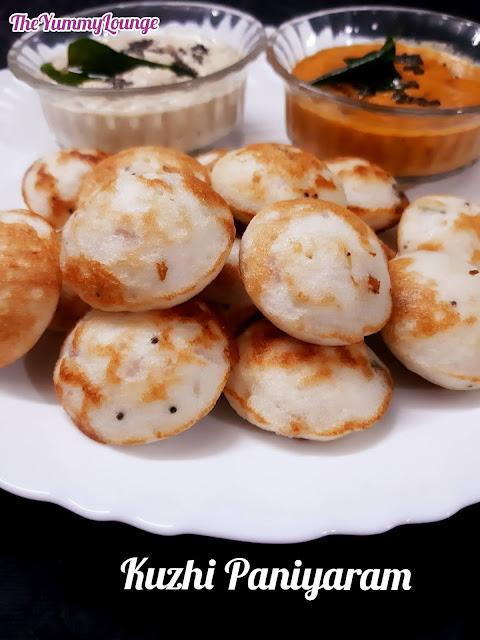 Kuzhi Paniyaram - Masala Appe - Gunta Ponganalu