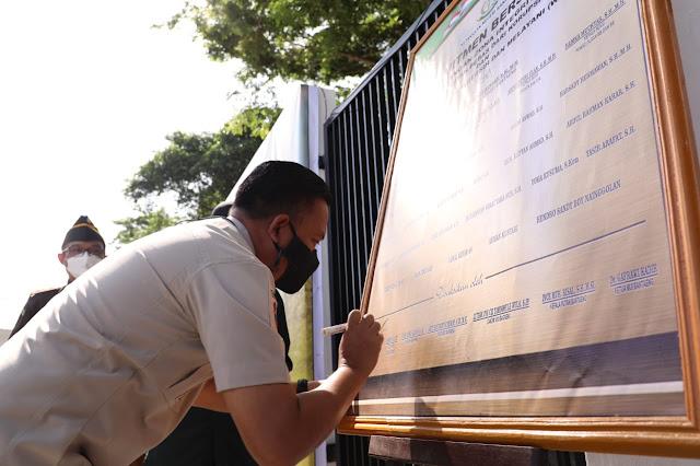 WBK Dicanangkan, Bupati Bantaeng: Bukti Hadirnya Lembaga yang Berintegritas