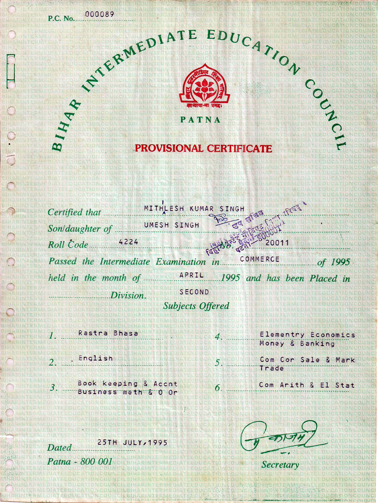 home loan interest certificate of axis bank