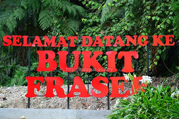 Bukit Fraser Pahang