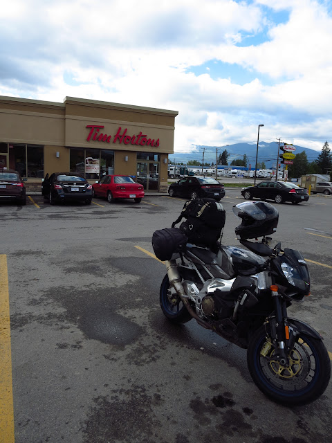Aprilia Tuono Creston British Columbia Tim Hortons
