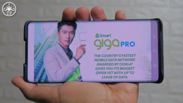 Smart GIGA Pro Promo, Hyun Bin Smart Giga Pro