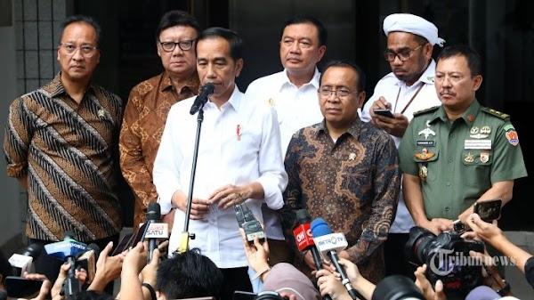 Wiranto Ditusuk, Jokowi Perintahkan Pengamanan Semua Pejabat