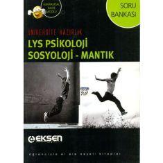 Eksen LYS Psikoloji, Sosyoloji - Mantık Soru Bankası