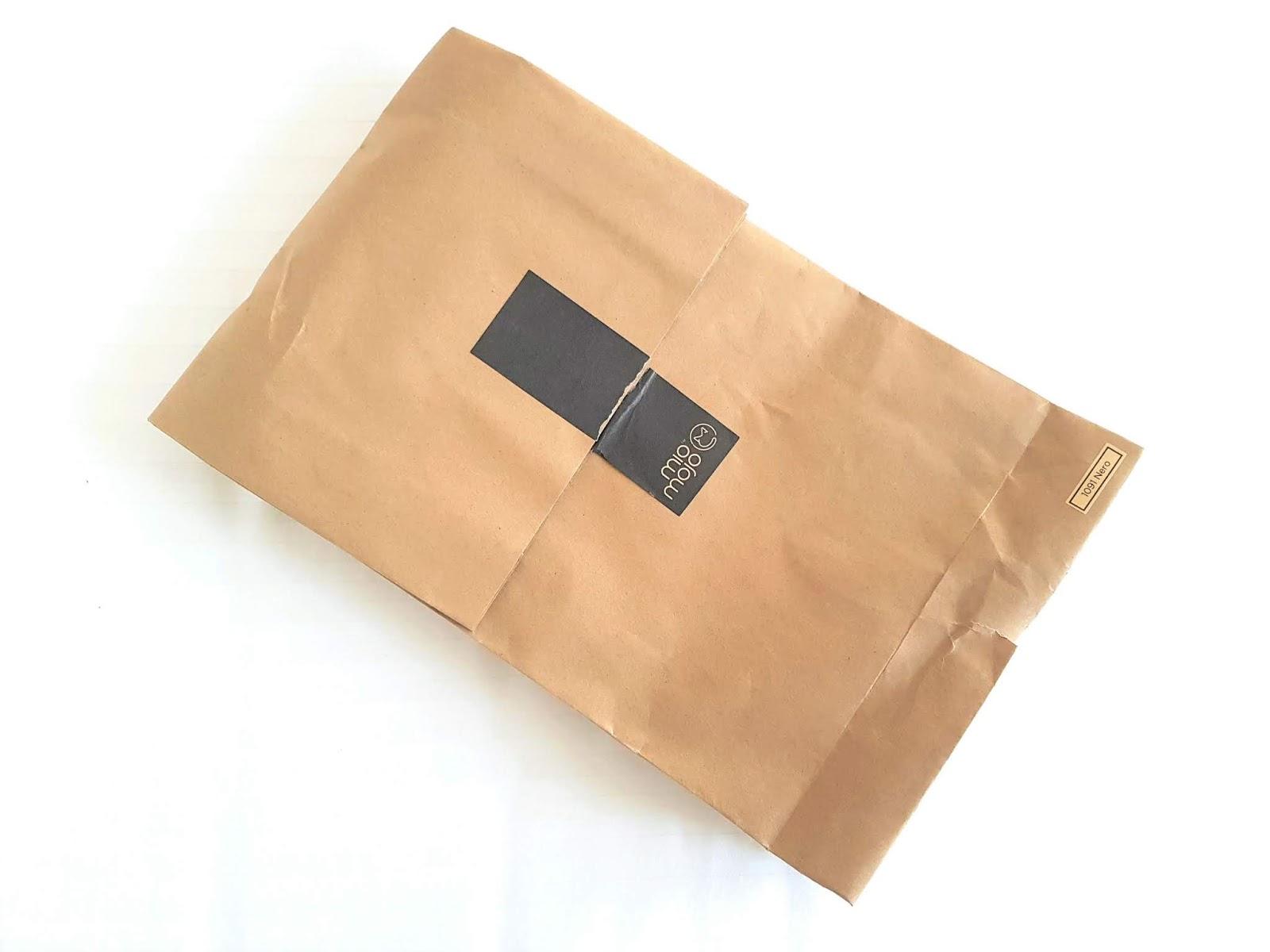 Sustainable backpack - eco-friendly packaging - Vegan backpack in plastic-free packaging