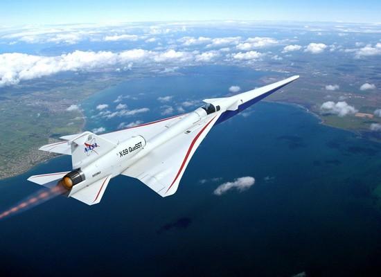 aereo X-59 Quiet SuperSonic Technology