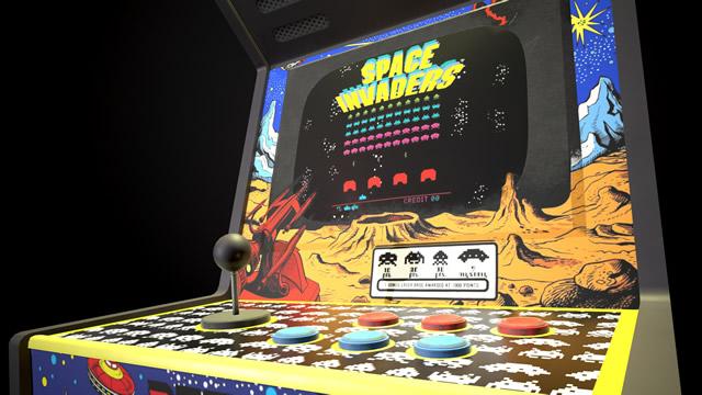 1978. Space Invaders Arcade