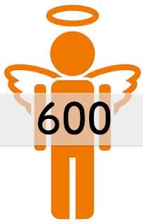 エンジェルナンバー 600