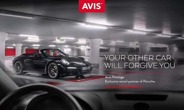 Avis  Affair with Porsche Thrust Into the Spotlight