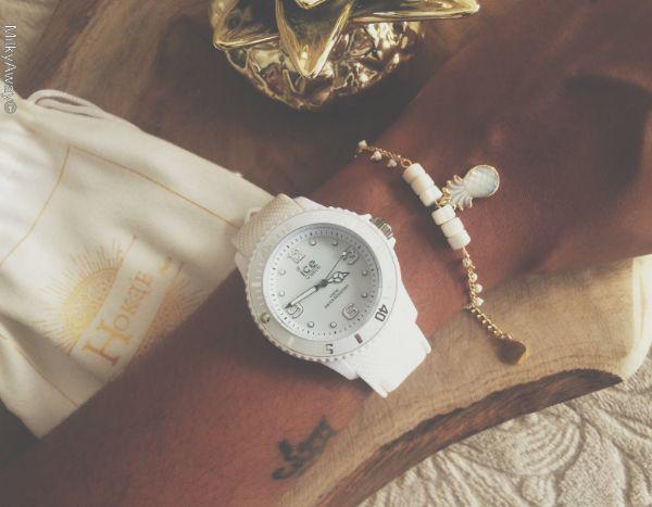 Collection Nacre Bracelet Melo par Hokee Paris