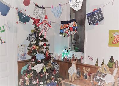 fete du slip idées betises lutin de noel elf elfe on the shelf
