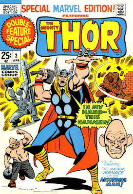 Special Marvel Edition #2, Thor and the Absorbing Man