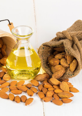 The benefits of almonds, almonds, the benefits of almond oil, the benefits of almond milk, the benefits of almond oil for hair and skin, the benefits of sweet almond oil