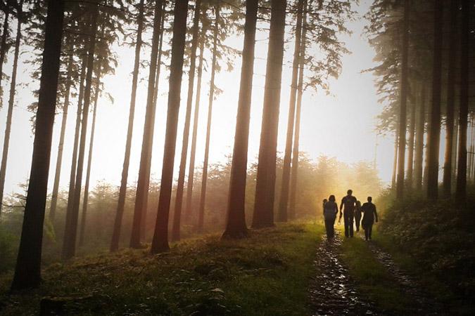 Dlium Wilderness adventure with family and children