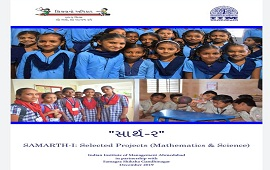 SAARTH 2 SAMARTH 1 MATHS AND SCIENCE SELECTED PROJECT YEAR 2018