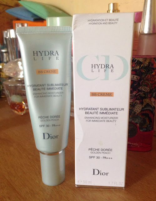 c9c79a56 Frozen Blossoms: Review: Dior Hydra Life BB Creme 02 Golden Peach