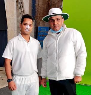 क्रिकेटर बनने का सपना लिये मुम्बई पहुँचा जौनपुर का लाल बना अभिनेता   #NayaSaberaNetwork