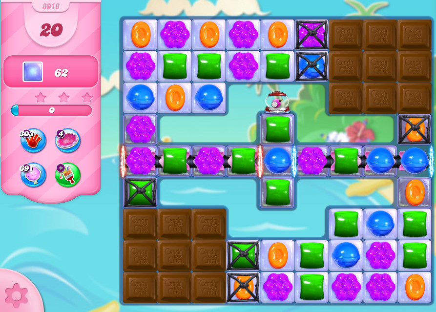 Candy Crush Saga level 3013