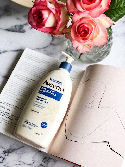 Лосьон для тела без запаха Aveeno Active Naturals Skin Relief