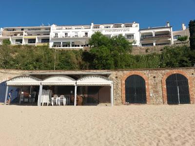 Hotel Mediterrani en Calella de Palafrugell