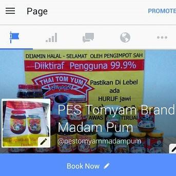 PES TOMYAM BRAND MADAM PUM: PES Tomyam Dari Padang Besar