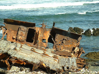 Photo of shipwreck by Fokko Veenstra
