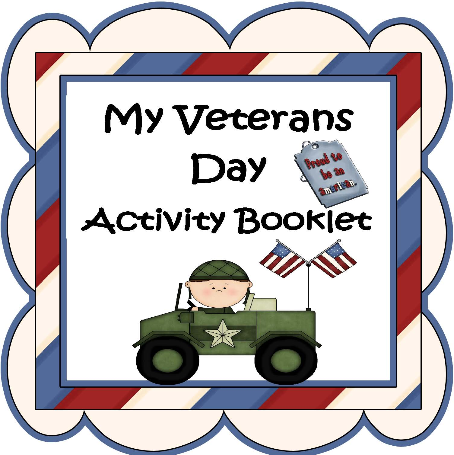Activity Pages For Elementary Students